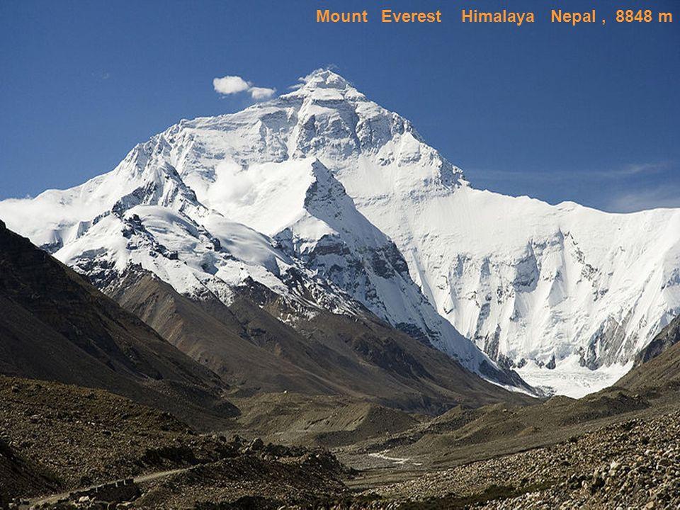 Mount Everest Himalaya Nepal , 8848 m