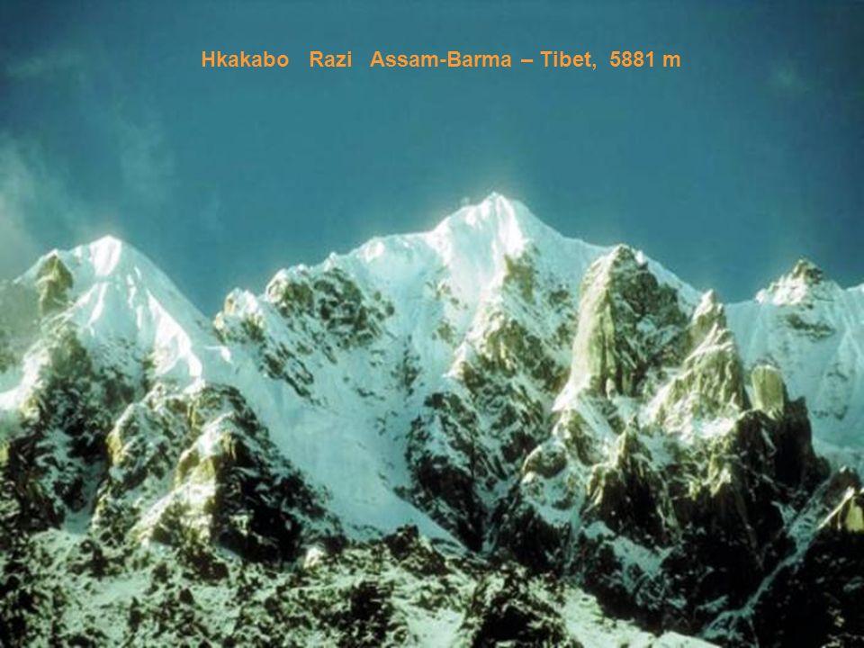Hkakabo Razi Assam-Barma – Tibet, 5881 m