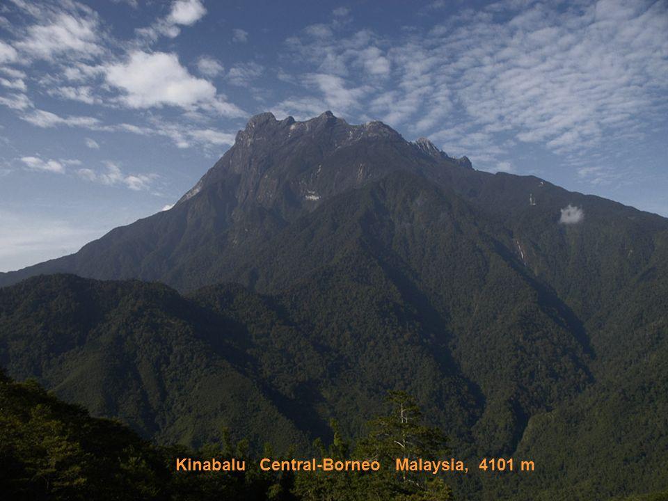 Kinabalu Central-Borneo Malaysia, 4101 m