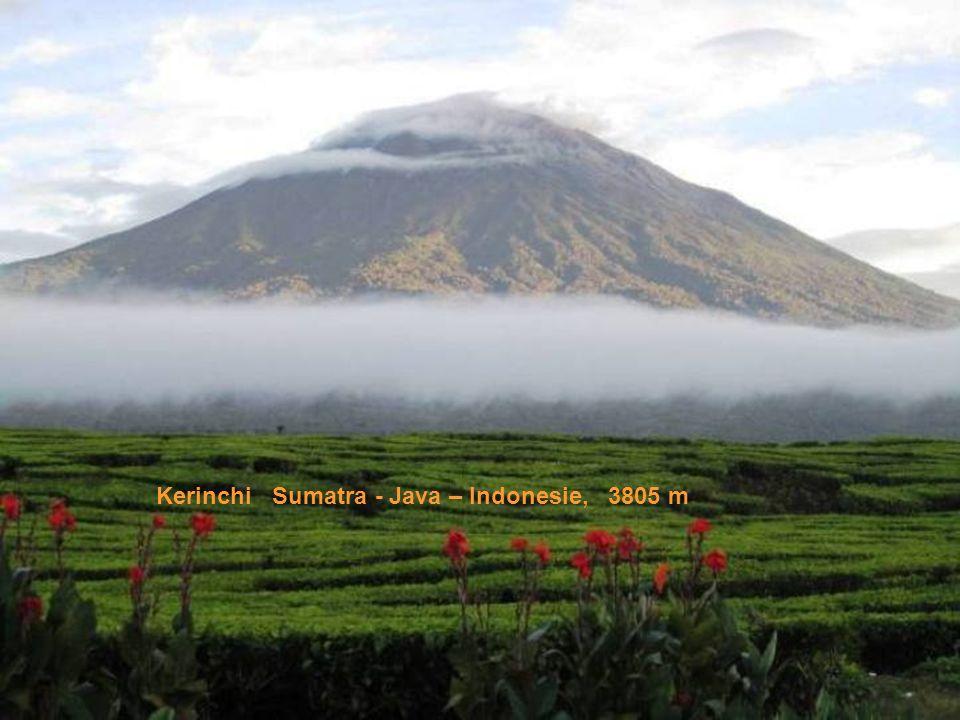 Kerinchi Sumatra - Java – Indonesie, 3805 m