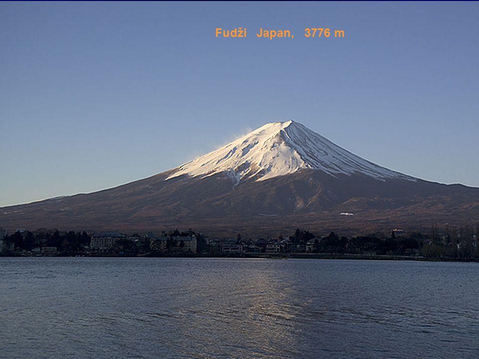 Fudži Japan, 3776 m