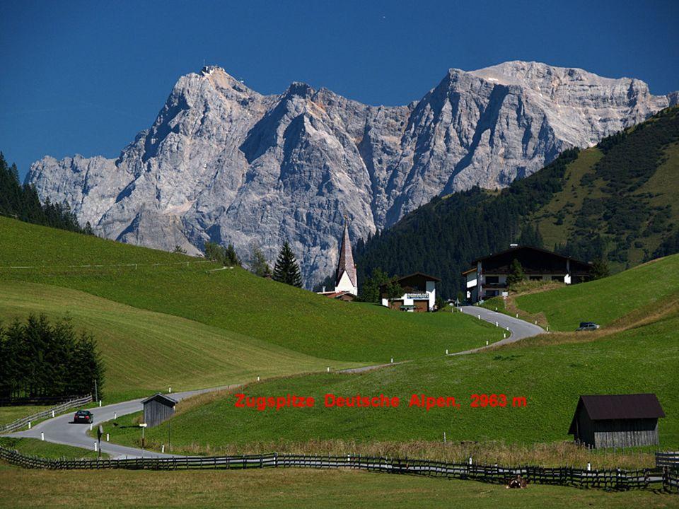 Zugspitze Deutsche Alpen, 2963 m