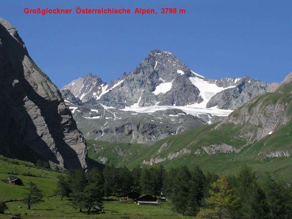 Großglockner Österreichische Alpen, 3798 m