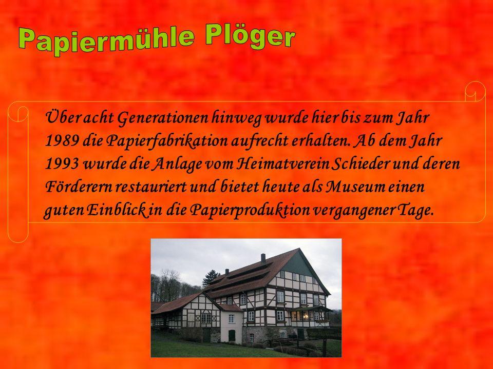 Papiermühle Plöger