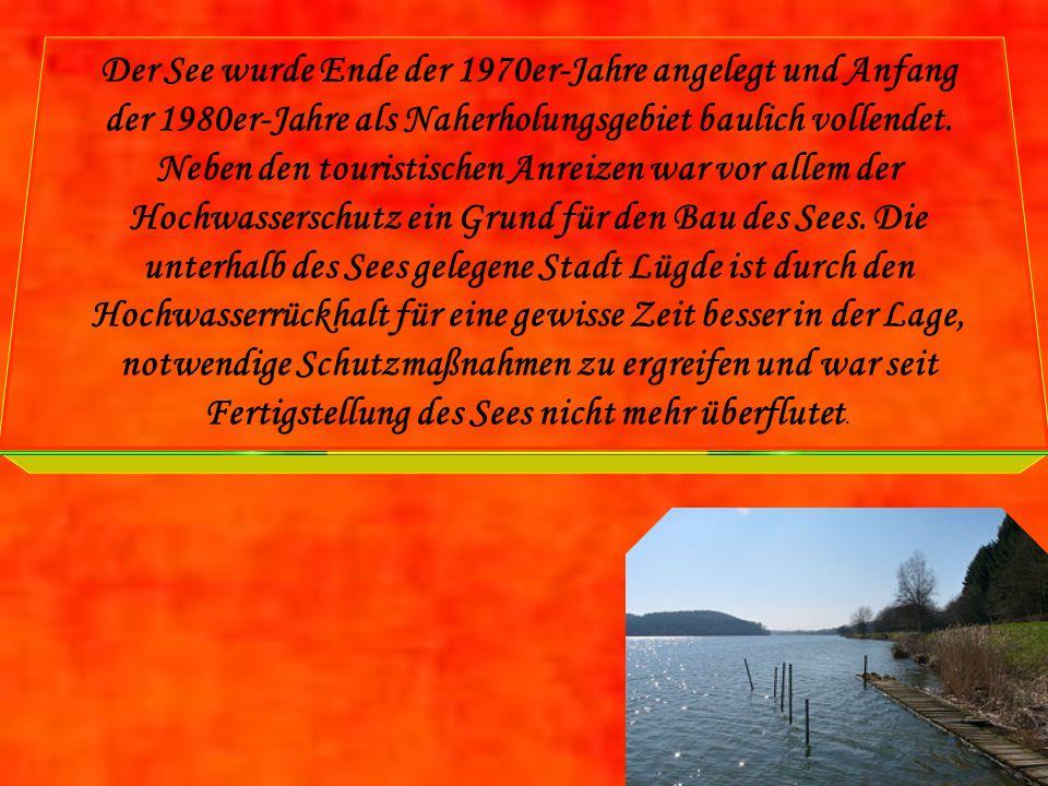 Der See wurde Ende der 1970er-Jahre angelegt und Anfang der 1980er-Jahre als Naherholungsgebiet baulich vollendet.
