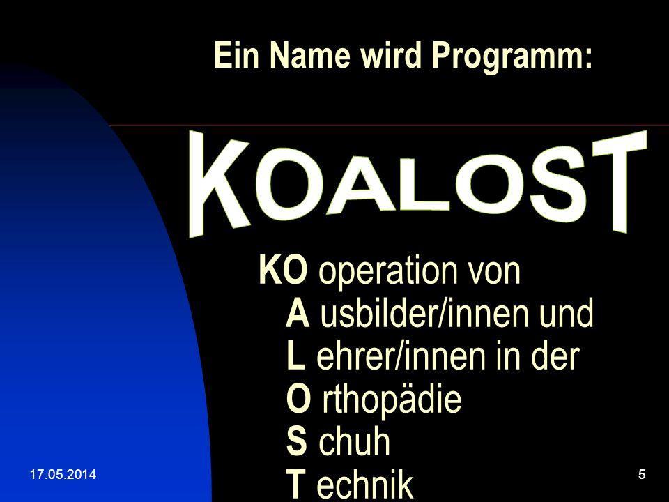 Ein Name wird Programm: