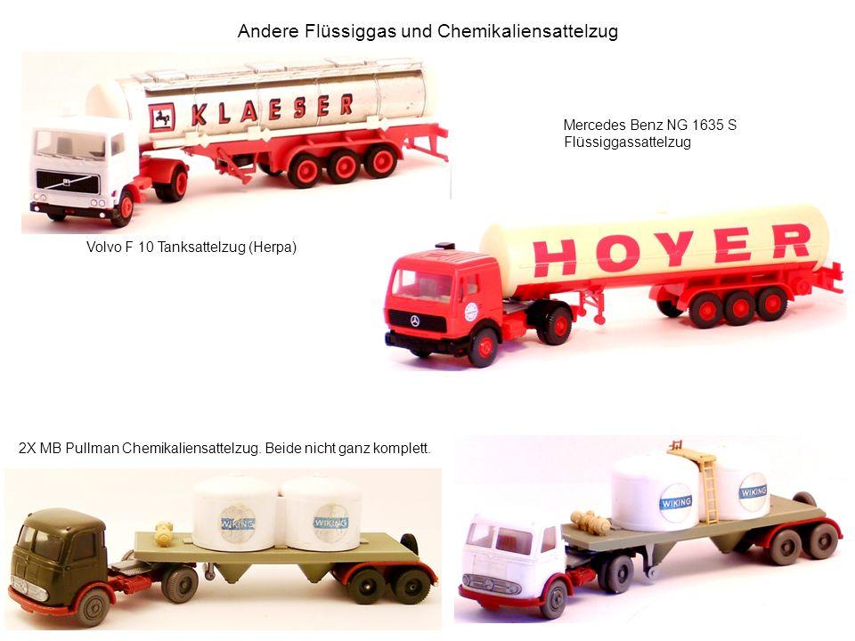 Andere Flüssiggas und Chemikaliensattelzug