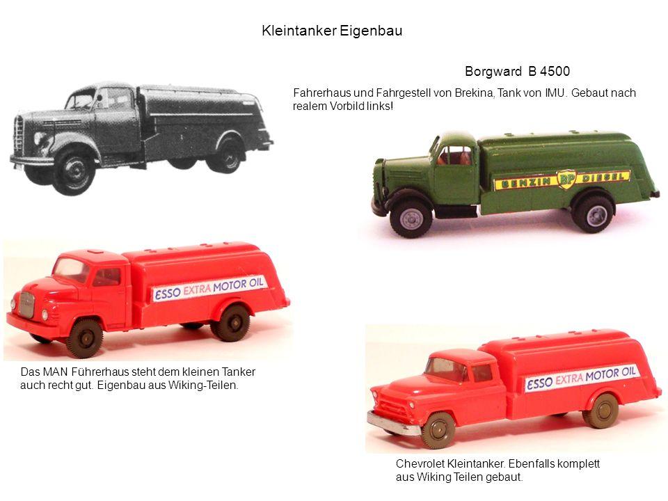 Kleintanker Eigenbau Borgward B 4500