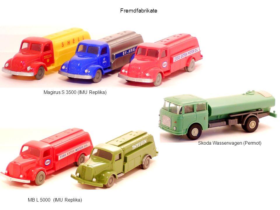 Fremdfabrikate Magirus S 3500 (IMU Replika) Skoda Wasserwagen (Permot)