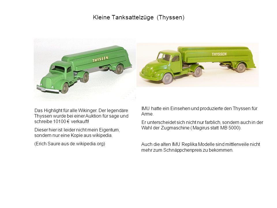Kleine Tanksattelzüge (Thyssen)