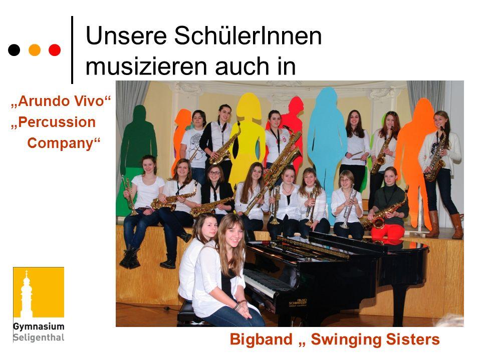 Unsere SchülerInnen musizieren auch in