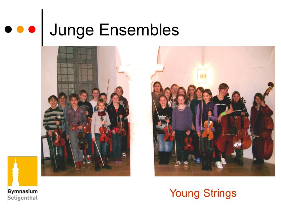 Junge Ensembles Young Strings