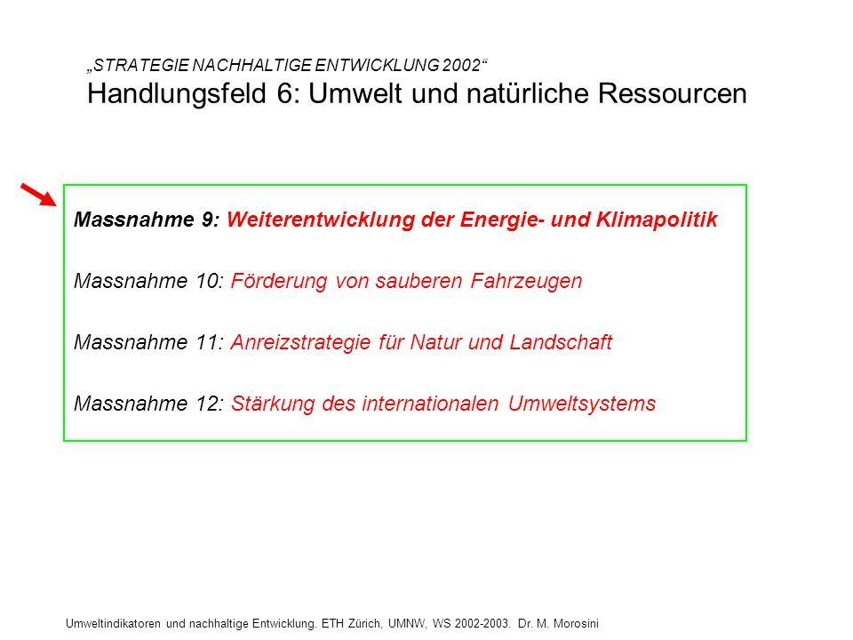 Massnahme 9: Weiterentwicklung der Energie- und Klimapolitik