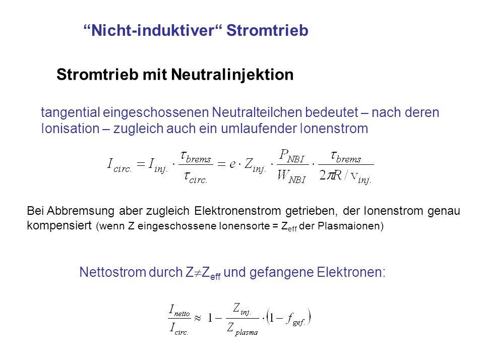 Nicht-induktiver Stromtrieb