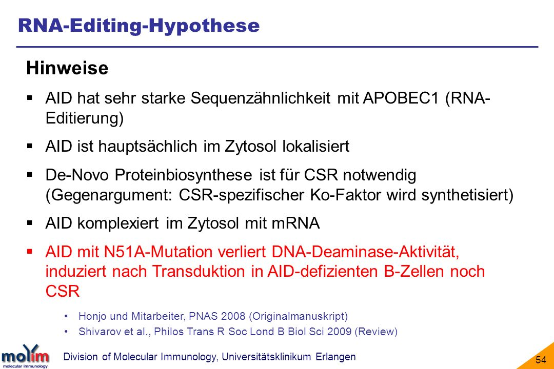 RNA-Editing-Hypothese