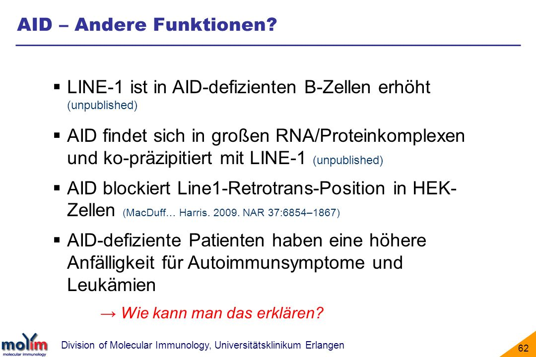 AID – Andere Funktionen