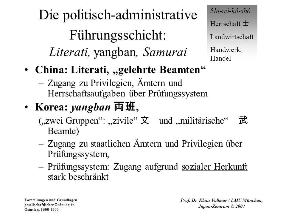 Prof. Dr. Klaus Vollmer / LMU München, Japan-Zentrum © 2004