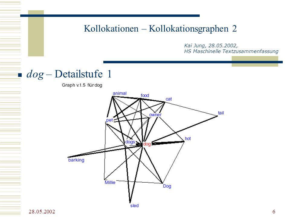 Kollokationen – Kollokationsgraphen 2