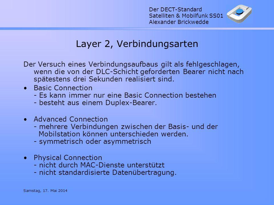 Layer 2, Verbindungsarten