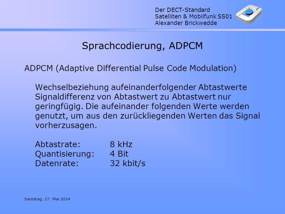 Sprachcodierung, ADPCM