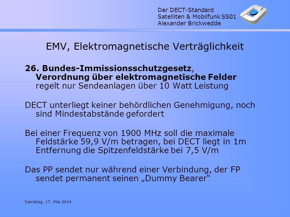 EMV, Elektromagnetische Verträglichkeit