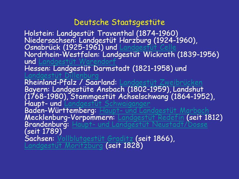 Deutsche Staatsgestüte