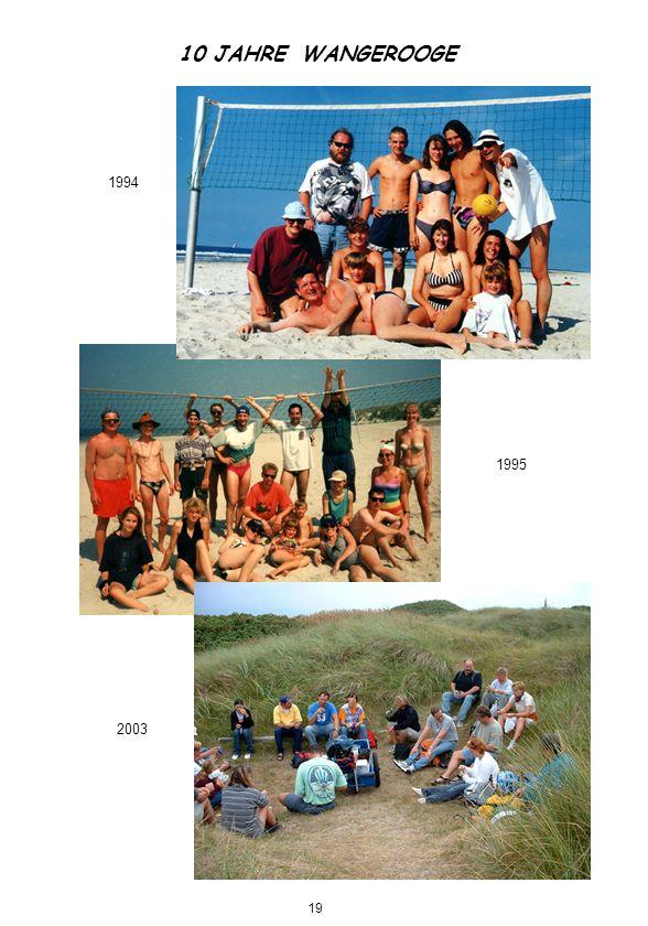 10 JAHRE WANGEROOGE 1994 1995 2003 19
