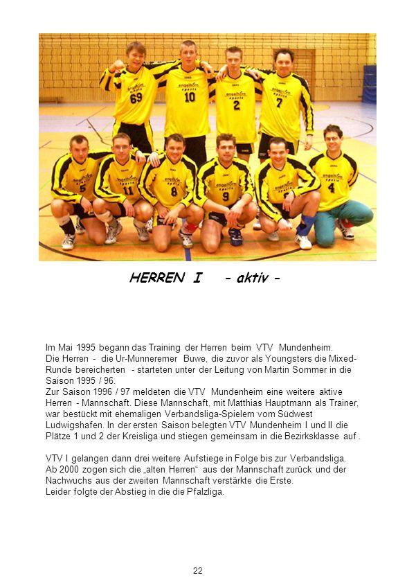HERREN I - aktiv -