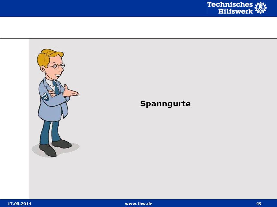 Spanngurte 31.03.2017 www.thw.de