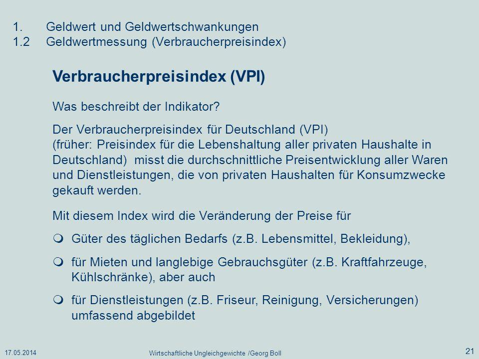 Wirtschaftliche Ungleichgewichte /Georg Boll