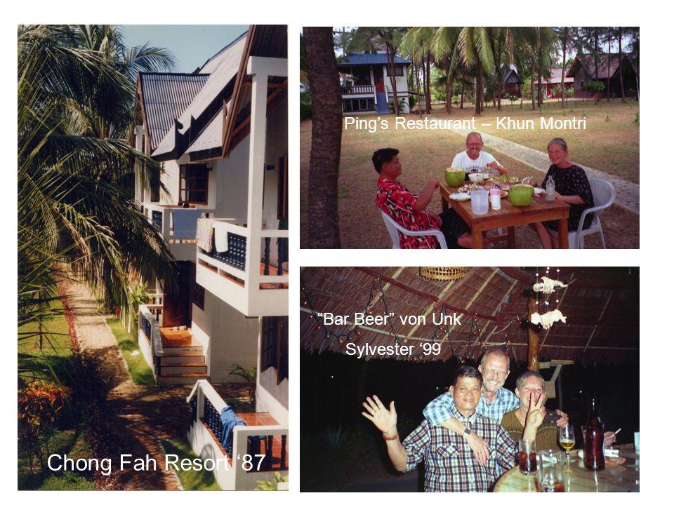Chong Fah Resort '87 Ping's Restaurant – Khun Montri