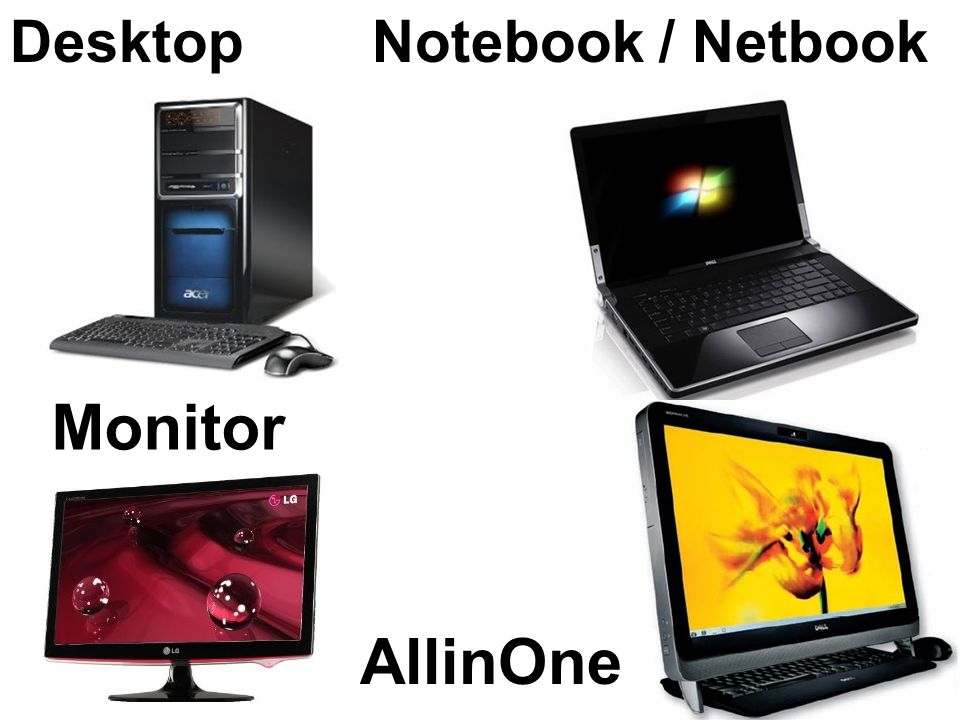 Desktop Notebook / Netbook