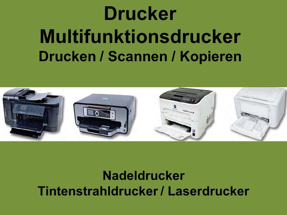 Drucker Multifunktionsdrucker