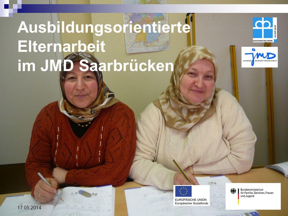 Bundesmodellprojekt: Ausbildungsorientierte Elternarbeit im JMD Saarbrücken
