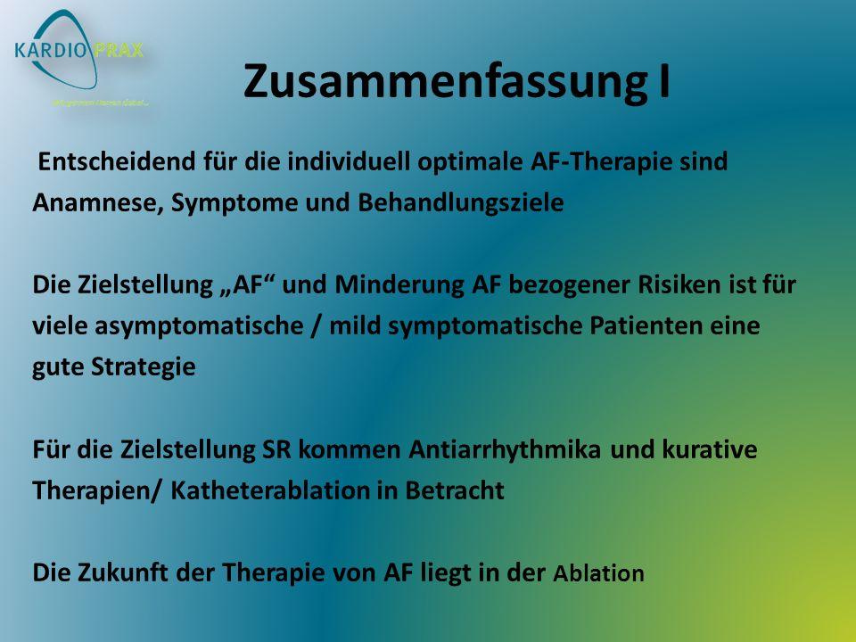 Zusammenfassung I Anamnese, Symptome und Behandlungsziele