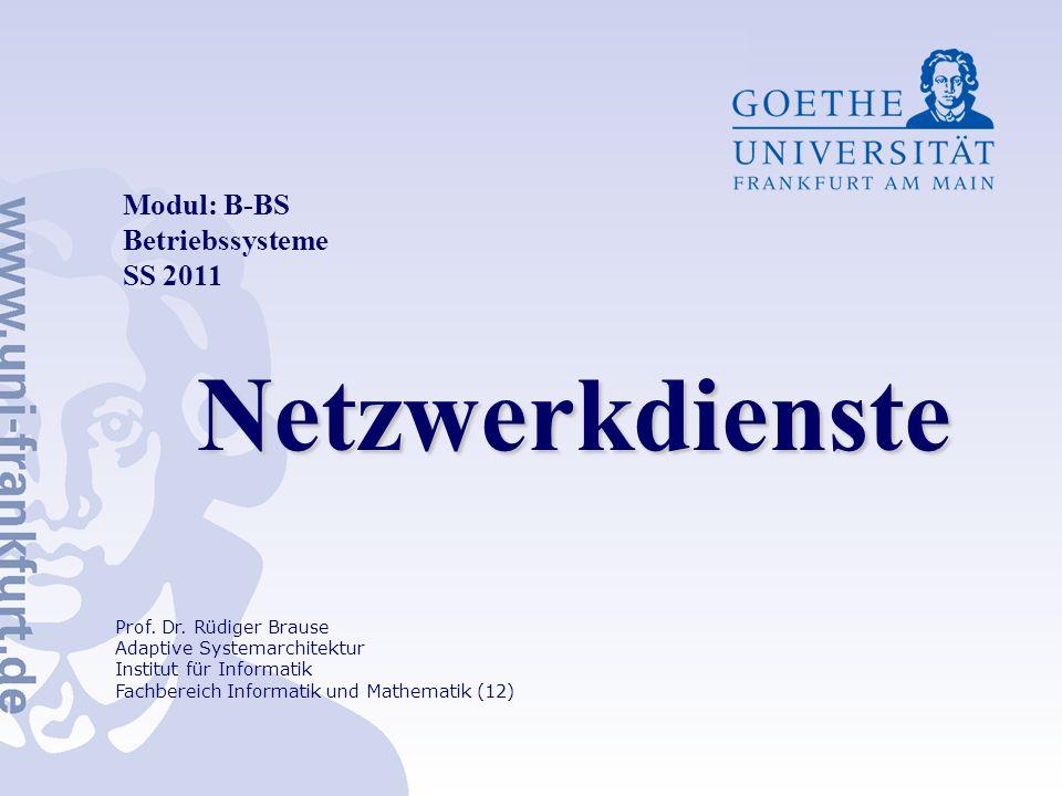Netzwerkdienste