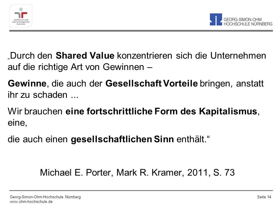 Michael E. Porter, Mark R. Kramer, 2011, S. 73