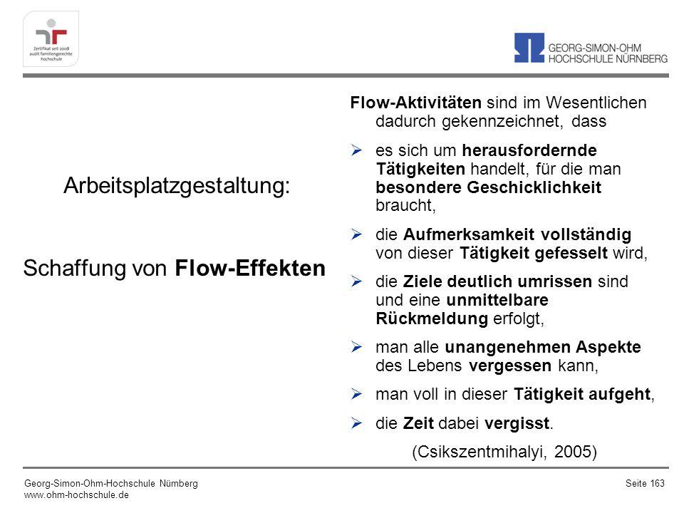 Arbeitsplatzgestaltung: Schaffung von Flow-Effekten