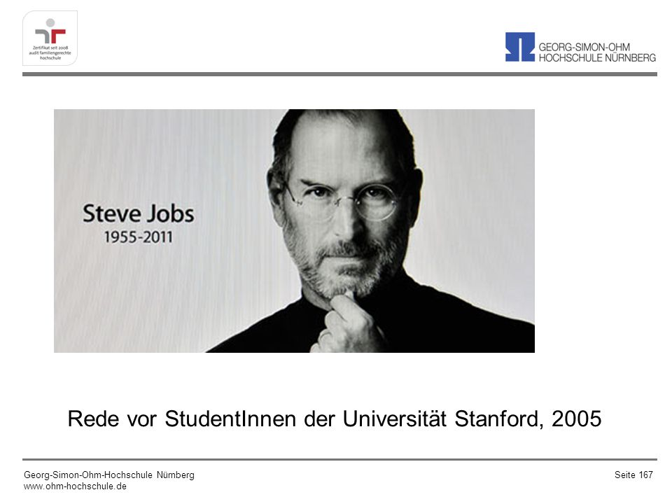 Rede vor StudentInnen der Universität Stanford, 2005