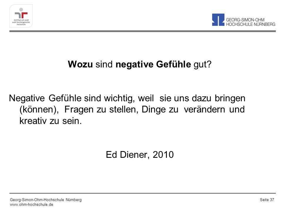 Wozu sind negative Gefühle gut