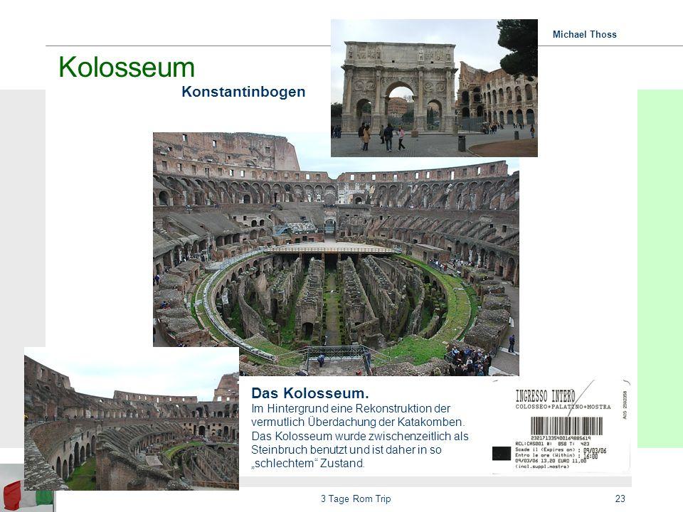 Kolosseum Konstantinbogen