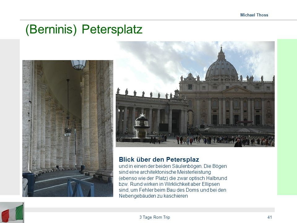 (Berninis) Petersplatz