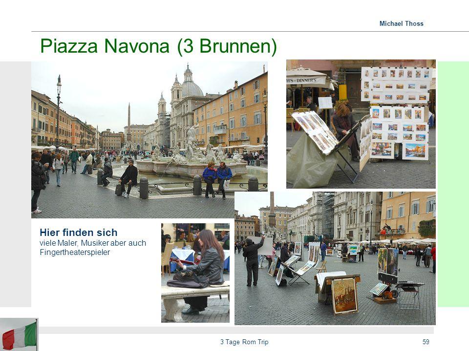 Piazza Navona (3 Brunnen)