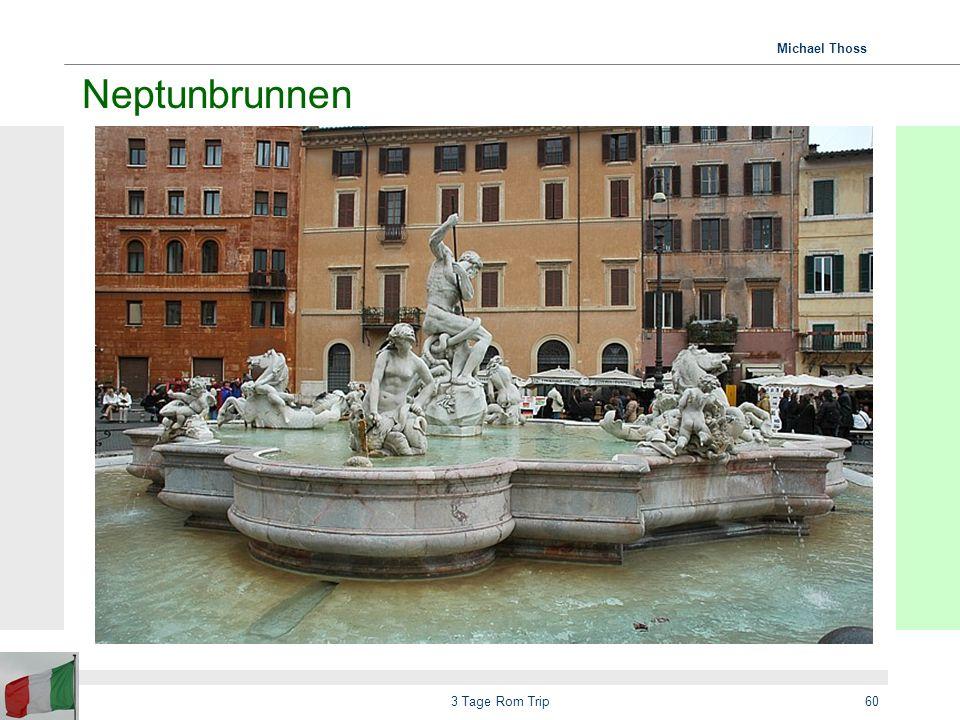 Neptunbrunnen 3 Tage Rom Trip