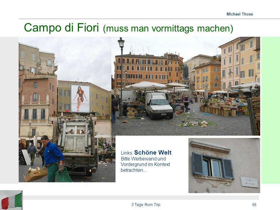 Campo di Fiori (muss man vormittags machen)