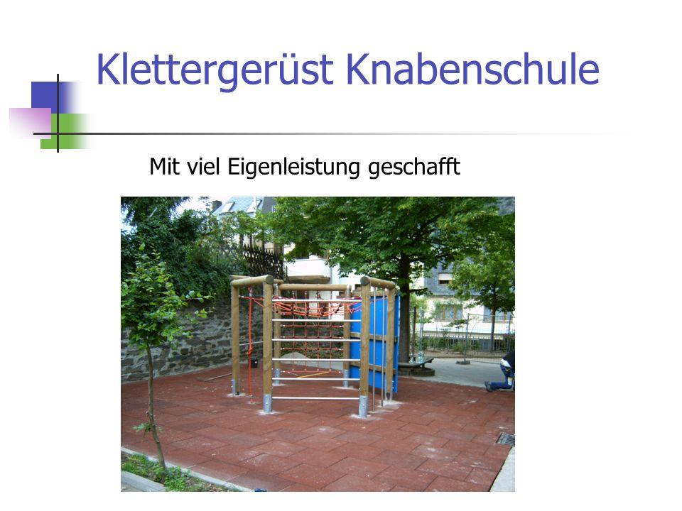 Klettergerüst Knabenschule