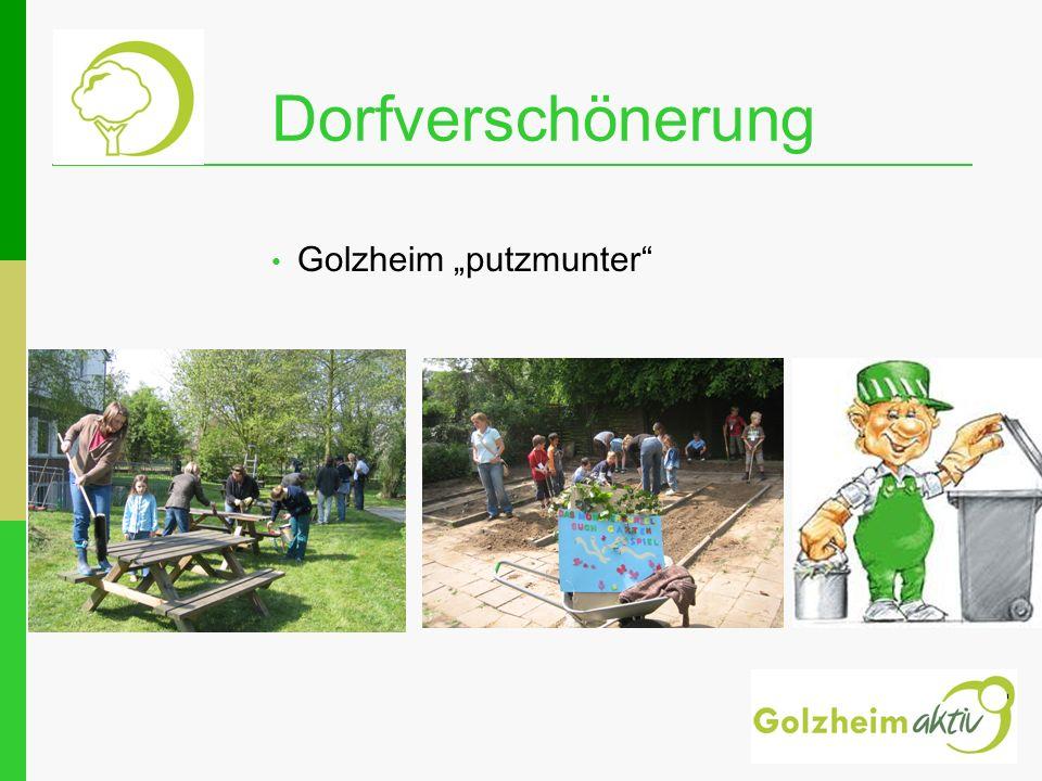 """Dorfverschönerung Golzheim """"putzmunter"""