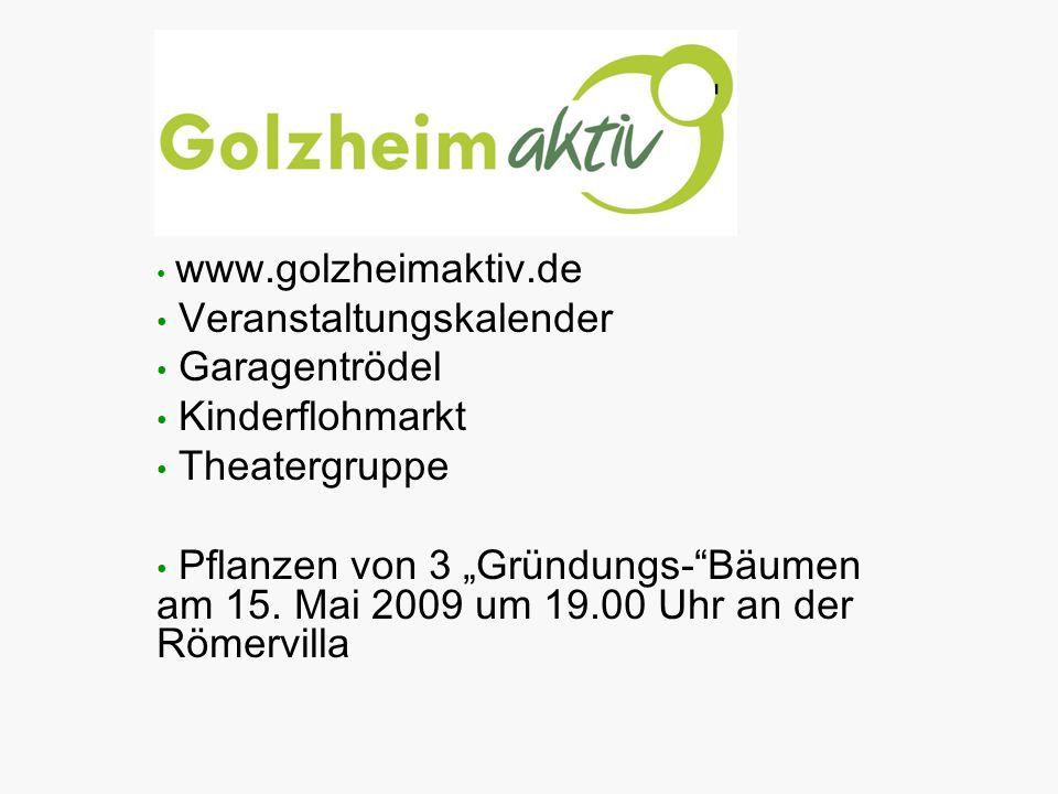 Veranstaltungskalender Garagentrödel Kinderflohmarkt Theatergruppe