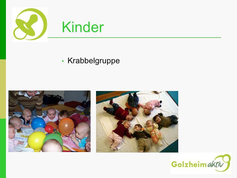 Kinder Krabbelgruppe Ansprechpartnerin für Kinderflohmarkt: Susanne Bär