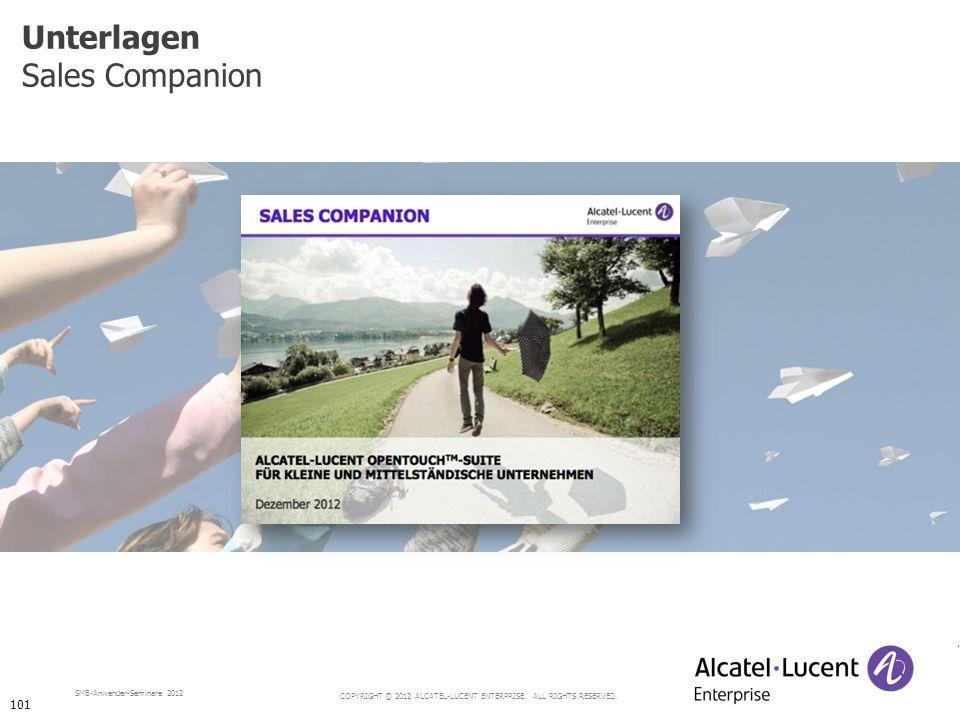 Unterlagen Sales Companion 101